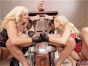 passionate Ms. Alexis Fawx predominates her new obedient