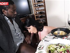 milf With ample ass Gets buttfuck drilled By meaty dark-hued beef whistle