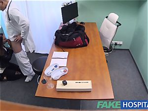 FakeHospital dirty physician pokes thief and creampies her