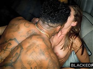BLACKEDRAW super-naughty Model Meets big black cock and Gets predominated