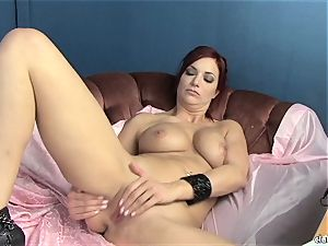 sensuous Jayden Cole enjoys taunting her sweet moist bud