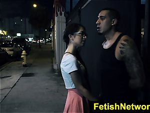 FetishNetwork Joseline Kelly public bdsm