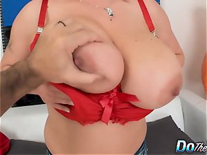 big titted wife romps for her hubby