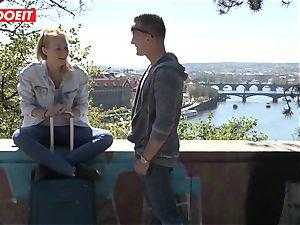 Russian babe boinked stiff By Czech boner - LETSDOEIT