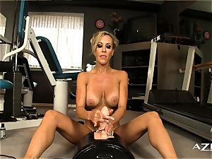 killer blondie mummy rails sybian and blows a load rock hard