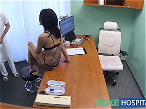 FakeHospital crazy Russian stunner takes off and penetrates