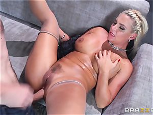 Phoenix Marie gets romped in the bum by thick dicked Danny D