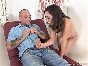 Jade Nile Has Her husband deep-throat wood and see Her