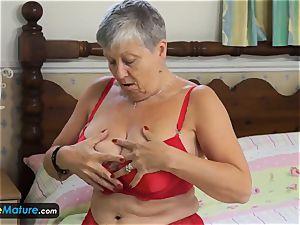 EuropeMaturE great big-chested grandmas Compilation