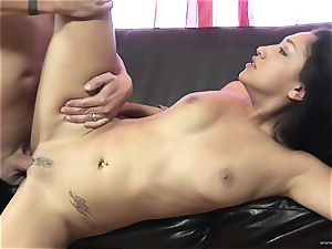 Scintillating Vicky chase gets plastered with spunk