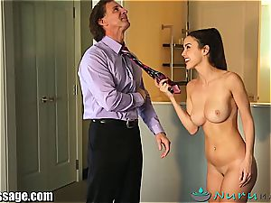 Dillion Harper boned by her step parent