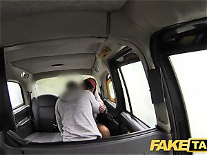 fake taxi little bit of rimming and anal invasion intercourse