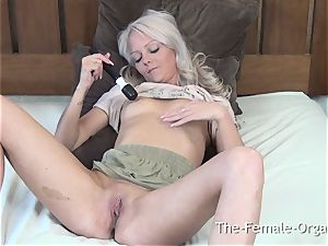 hefty nips and Lips and multiple wiggling orgasms