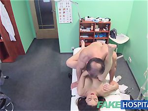 FakeHospital super hot Spanish patient gets creampied