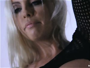 Britney Amber playthings in her labia