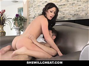 SheWillCheat warm wifey Cheats with spouses playmate