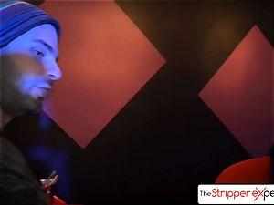 The StripperExperience- Sarah Jessie banging a large boner