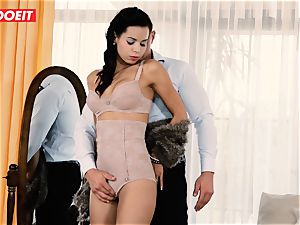 LETSDOEIT - super-naughty couple Has Retro desire harsh fuck-fest