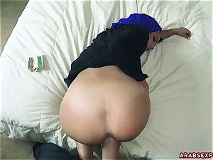 Arab subjugated nymph Apolonia Lapiedra gets money for filthy fuck-fest